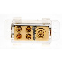 Autoleads Mini Gold 4 Way Distribution Block G2-11
