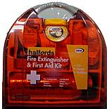 Halfords Fire Extinguisher & First Aid Kit