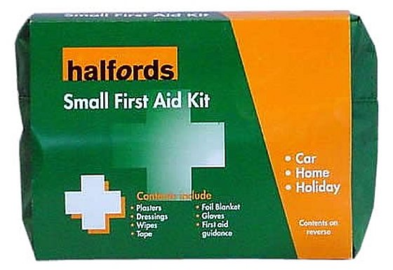 Halfords Small First Aid Kit