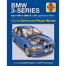 image of Haynes BMW 3 Series (Sept 96-03) Manual
