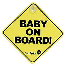 image of Safety 1st Baby On Board Sign
