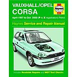 Haynes Vauxhall Corsa (Apr 97 - Oct 00) Manual