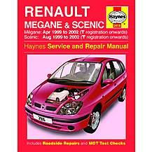image of Haynes Renault Megane & Scenic (Apr 99 - 02) Manual