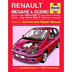 image of Haynes Renault Megane & Scenic (Apr 99 - 02) Manual