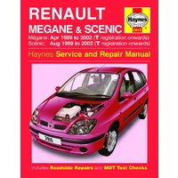 Haynes Renault Megane & Scenic (Apr 99 - 02) Manual