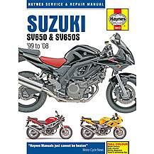 image of Haynes Suzuki SV650 (99 - 08)