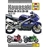 image of Haynes Kawasaki Ninja ZX-7R & ZX-9R (ZX750P, ZX900B/C/D/E) (94 - 00)