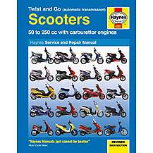 image of Haynes Twist and Go (automatic transmission) Scooters