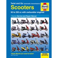 Haynes Twist and Go (automatic transmission) Scooters