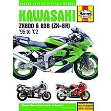 image of Haynes Kawasaki ZX-6R Ninja Fours (95 - 98)