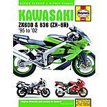 Haynes Kawasaki ZX-6R Ninja Fours (95 - 98)