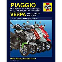 image of Haynes Piaggio (Vespa) Scooters (91 - 06) Manual