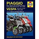image of Haynes Piaggio (Vespa) Scooters (91 - 06) Manual