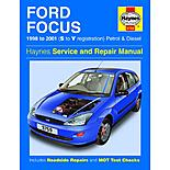Haynes Ford Focus (98 - 01) Manual