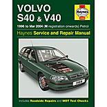 Haynes Volvo S40 & V40 (96 - March 04) Manual