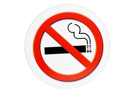Halfords No Smoking Tax Disc Holder