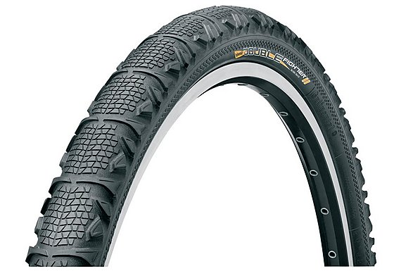 Continental Double Fighter Bike Tyre - 26