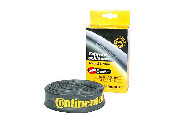 Continental Tour Slim Bike Inner Tube - 26