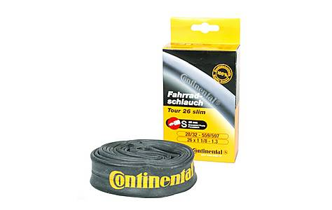 "image of Continental Tour Slim Bike Inner Tube - 26"" x 1.2"" - 1.3"""