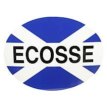 image of Halfords Ecosse Car Sticker.