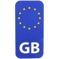 Halfords GB Euro - Car Sticker
