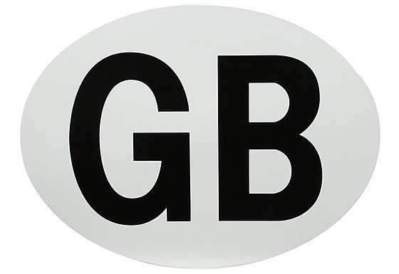 Halfords Magnetic GB Plate