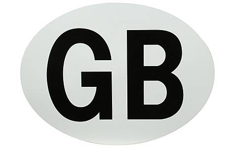 image of Halfords Magnetic GB Plate