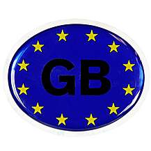 image of Halfords Deluxe GB Euro Badge