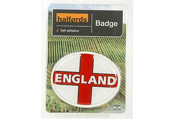 Halfords Deluxe England Badge