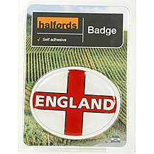 image of Halfords Deluxe England Badge