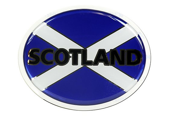 Halfords Deluxe Scotland Badge