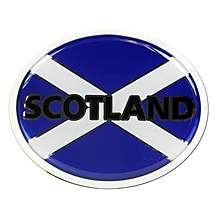 image of Halfords Deluxe Scotland Badge