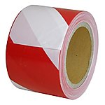 image of Halfords Red and White Barrier Tape