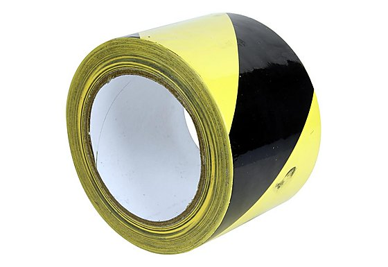 Halfords Adhesive PVC Hazard Tape
