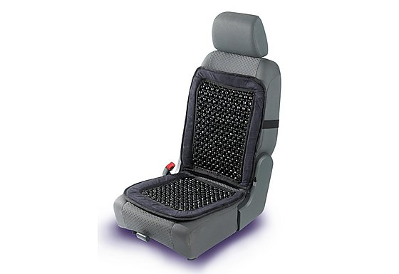 Halfords Beaded Seat Cushion Back Support