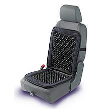 image of Halfords Beaded Seat Cushion Back Support