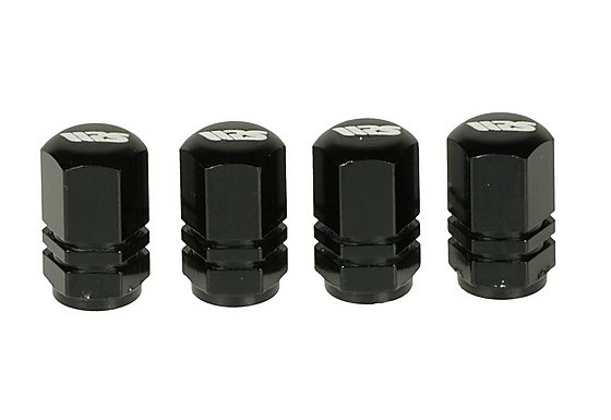 Ripspeed Flat Valve Caps - Black