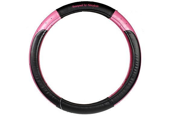 Powered By Fairydust Steering Wheel Cover