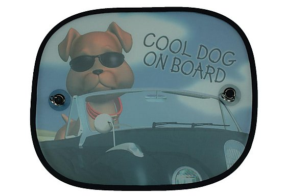 HALFORDS COOL DOG SUNSHADES X2