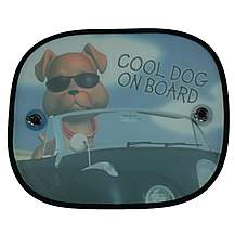 image of Halfords Cool Dog Side Window Sunshades