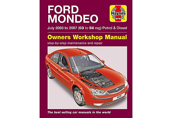 Haynes Ford Mondeo (July 03 - 07) Manual