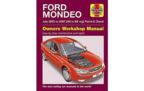image of Haynes Ford Mondeo (July 03 - 07) Manual