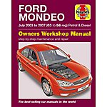 image of Haynes Ford Mondeo (July 03 - 07) Manual