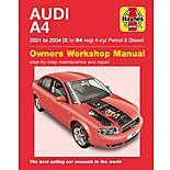 Haynes Audi A4 (01 to 04) Manual