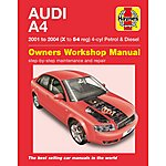 image of Haynes Audi A4 (01 to 04) Manual