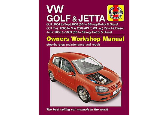Haynes VW Golf & Jetta (04 - 07) Manual