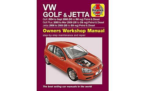 image of Haynes VW Golf & Jetta (04 - 07) Manual