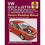 image of Haynes VW Golf & Jetta (04 - 09) Manual