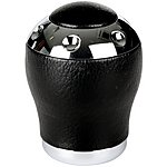 image of Ripspeed Gear Knob - Leather & Aluminium