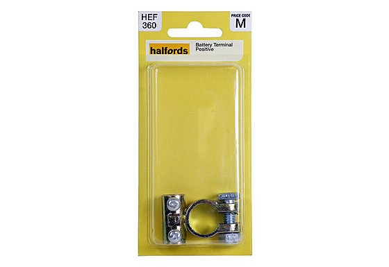 Halfords Battery Terminal Positive (HEF360)